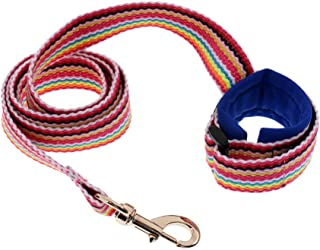 "Baosity 40"" Children Kids Anti-Lost Safety Leash Wrist Link Harness Strap Traction Rope - Blue"