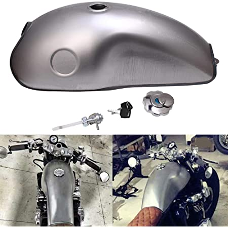 Details about  /US Ship Universal Cafe Racer 9L// 2.4 Gallon Gas Fuel Tank for Yamaha BMW Honda