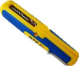S&R Abisolierwerkzeug PRÄZISION, Kabelabisolierer Kabel 10-20AWG, SAT/RG6 & RG59, Niedervolt Kabel 8-13mm Universal-Entmantelungswerkzeug Elektriker Werkzeug Kabelentmanteler Abisolierwerkzeug
