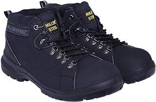 Miller Steel Safety Shoes - High Ankle MHL - Black