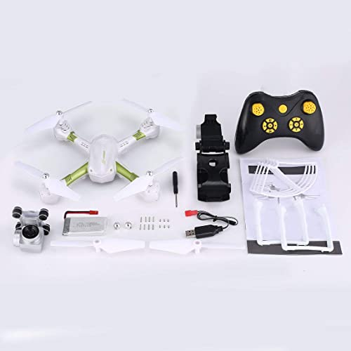 ZinESaya Quadcopter S31 Headless Mode Mini RC Helicopter Drone 2.4Ghz 6-Axis Gyro 2MP