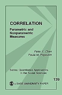Correlation: Parametric and Nonparametric Measures