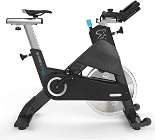 SPINNING 10-017-B Chrono Power Commercial Indoor Exercise Bike with Belt Drive by Precor, Black