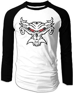 Brock Lesnar Fear The Fury Logo Men Baseball Tees Raglan Long Sleeve Vintage Jerseys T Shirts