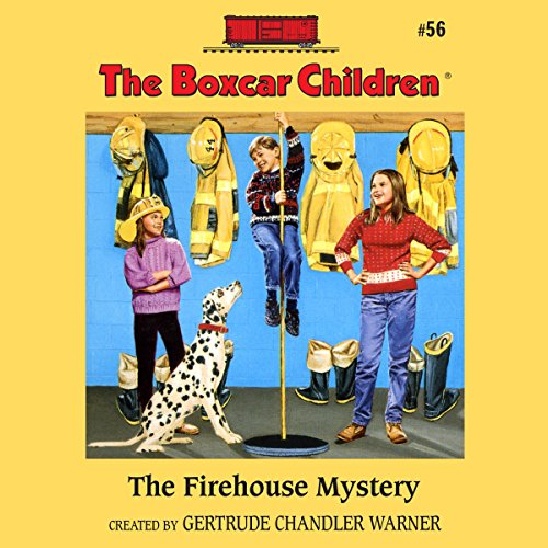 The Firehouse Mystery cover art