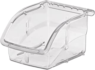 $87 » Akro-Mils 305A1 Insight Ultra-Clear Plastic Hanging and Stacking Storage Bin, 5-3/8-Inch Long by 4-1/8-Inch Wide by 3-1/4-Inch Wide, Case of 16