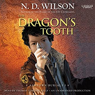 The Dragon's Tooth audiobook cover art