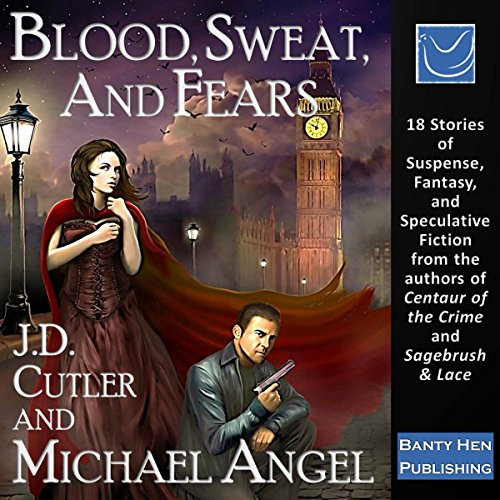 Blood, Sweat, and Fears audiobook cover art