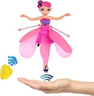Amazingbuy Flying Fairy Doll for Girls 6 Years Old,Infrared Induction Teen Toys Flying Princess Doll and Remote