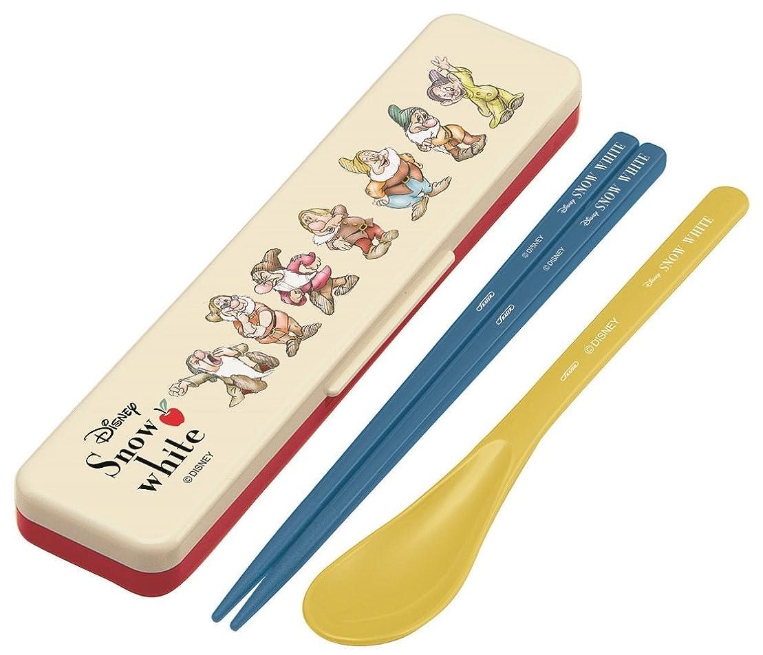 秋気分競うスケーター 弁当用箸 コンビセット 白雪姫 Snow White ディズニー 日本製 18cm CCS3SA