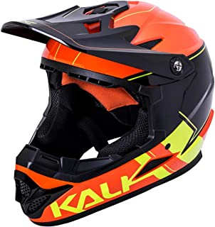 mtb helmet orange
