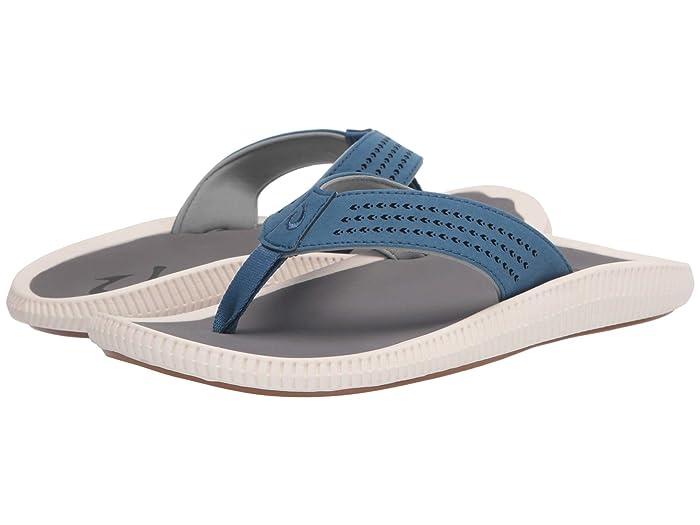 Ulele  Shoes (Slate Blue/Charcoal) Men's Sandals