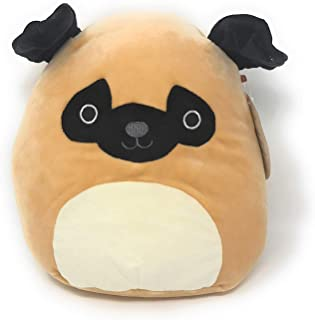 """Squishmallow 8"""" Super Soft Plush Toy Pillow Pet Animal Pillow Pal Buddy - Prince The Pug"""