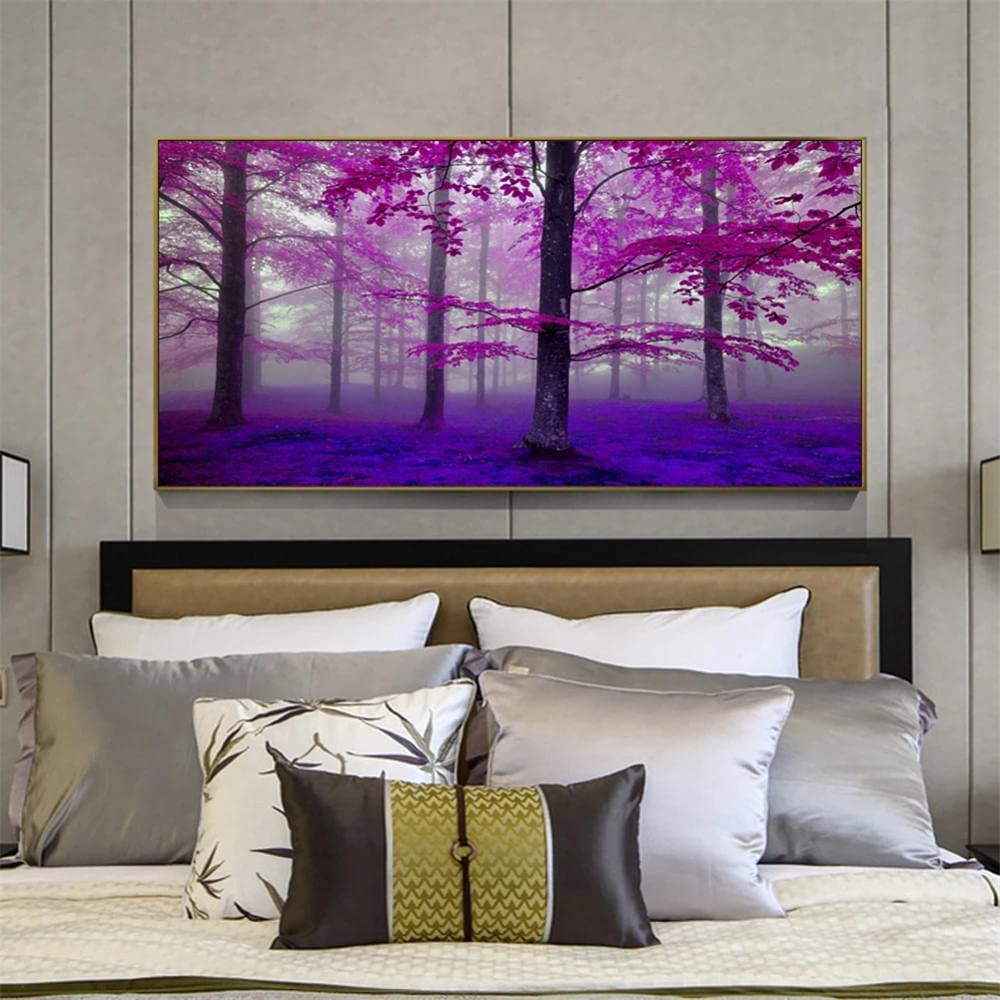 5D DIY Diamond Painting Ranking TOP1 Kits Super-cheap for Forest Adults Pictur Tree Kids