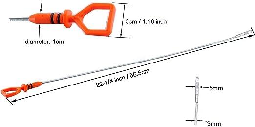 Dipsticks & Tubes Automotive Podoy Oil Dipstick 22.5 for ...