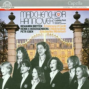 Britten, Herzogenberg, Eben