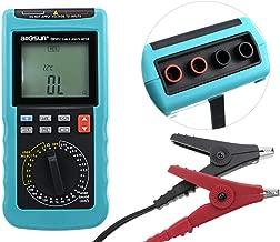 ALLOSUN Digital Cable Length Multimeter Wire Gauge Phone LAN Network Tracker Tester Temp Ohm Resistance Meter