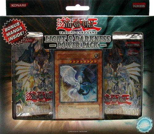 YuGiOh GX Card Game Light & Darkness Dragon Power Pack