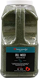 Loving Spoonful 23.8 oz Premium Dill Weed | Food Service 2 LB Bulk Size