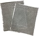 Duraflow Filtration 917763 Metal Mesh Filter, Fits Nordyne 917763 A-Coils, One Pair, 19' H, 0.125' W, 16' L (Pack of 2)