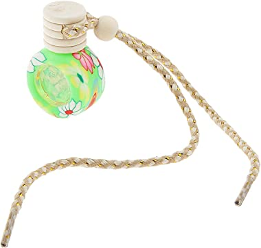without logo AFTWLKJ Exquisite Handcrafted Art Wheel Perfume Bottle Hanging Ornament Wall/Home Decor