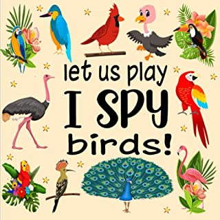 Let Us Play I Spy Birds!: A Fun Guessing Game for Kids Aged 3-6 Years Old| Alphabet picture book for preschoolers and kind...