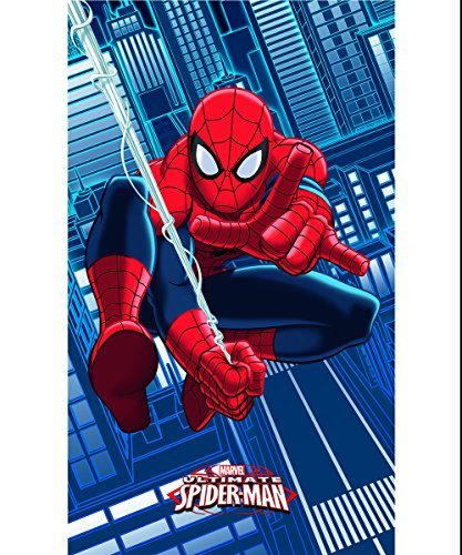 Spiderman Badetuch, Blau