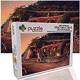 GFSJJ 1000 Piezas Puzzle Regalos Hombre Choza De Fantasía Jigsaw Puzzle para Niño Infantiles Adolescentes Adultos Hombre Regalos para Navidad (52 X 38 Cm)