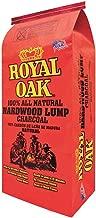 Royal Oak BBQ All Natural Premium 8 Pound Bag Lump Charcoal Starter (2 Pack)
