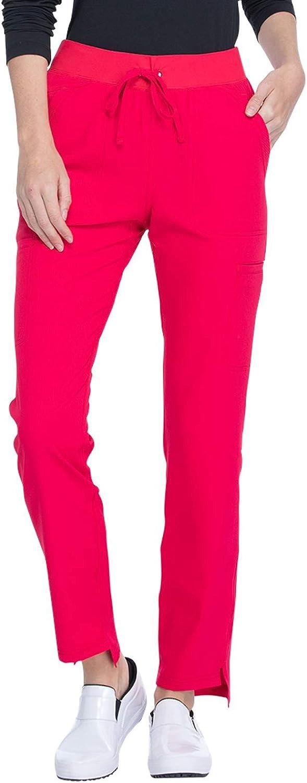 Elle Women Scrubs Pant Mid Rise EL130 Classic El Paso Mall Pull-on Straight Leg