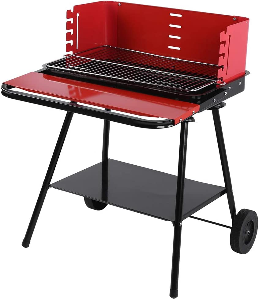 Boston Mall It is very popular Charcoal Grill Portable Outdoor Made of Camping Non-stick