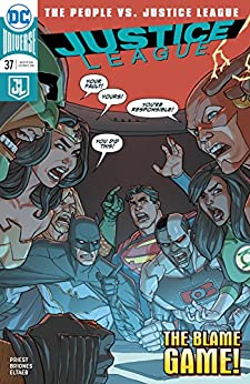Justice League (2016-2018) #37 by [Christopher Priest, Pete Woods, Phil Briones, Gabe Eltaeb]