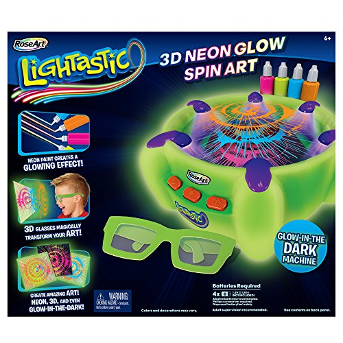 Price comparison product image RoseArt Lightastic 3D Neon Glow Spin Art