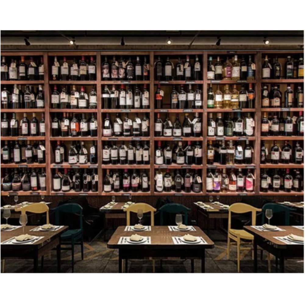 Iusasdz Custom Large 100%品質保証 3D Mural Bottle Wooden Wine 業界No.1 Wallpaper