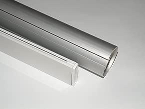 METechs - Aluminum Roller Shade Blind Rod with Bottom Bar CL338T-D40 59