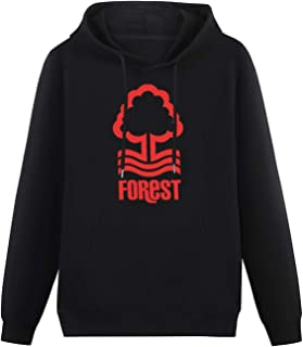 Ubs Mens CottonHoodies Nottingham Forest FC Logo Design Cool Hoodies Long Sleeve Pullover Loose Hoody Sweatershirt with H...