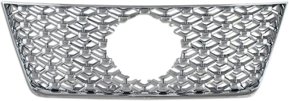 Upgrade Your Auto Premium FX 1pc Grille ABS Max 68% OFF for Insert Ni Chrome Many popular brands