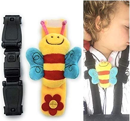 Twin Pack Anti Escape Chest Clip Car Seat Highchair Pushchair Escape Me Not Helps Prevent Children Taking Their Arms Out of The Straps