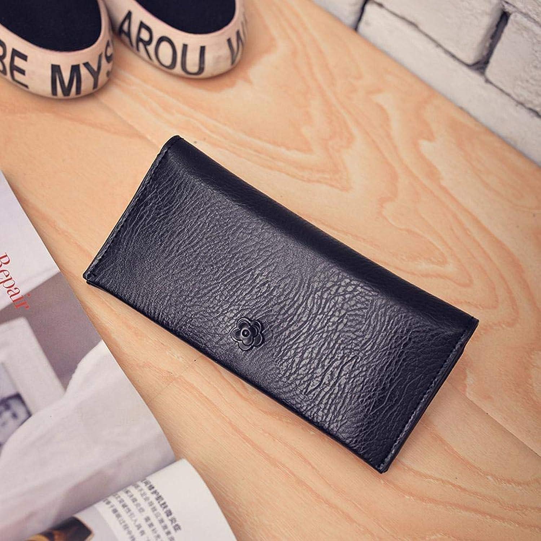 Girls Purse Women's Wallet Ladies Pu Wallet Hand Bag (color   A)