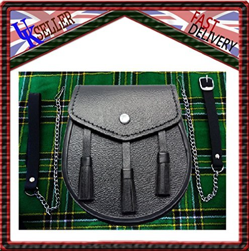 Le kit pochette et chaîne de tartan
