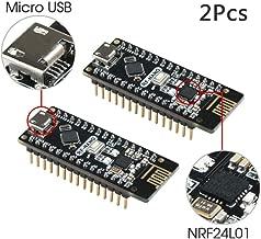 Keywish RF-Nano for Arduino Nano V3.0 Integrate nRF24L01 Wireless Module Mirco USB Board ATmega328P Micro-Controller Board Compatible with Arduino Nano V3.0 (2 Pcs)
