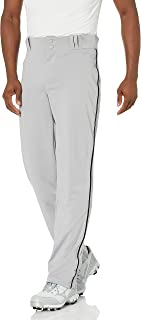 CHAMPRO Adult Triple Crown Open Bottom Piped Baseball Pants for Men