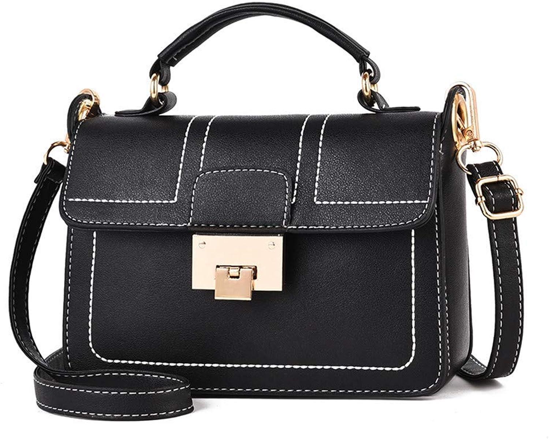XINXI Home Damenmode Tasche Handtasche Messenger Bag Europa und die die die Vereinigten Staaten Persönlichkeit Umhängetasche Outdoor Reisetasche Handytasche Kupplung, schwarz (Farbe   schwarz) B07MDBQN8C 103faa