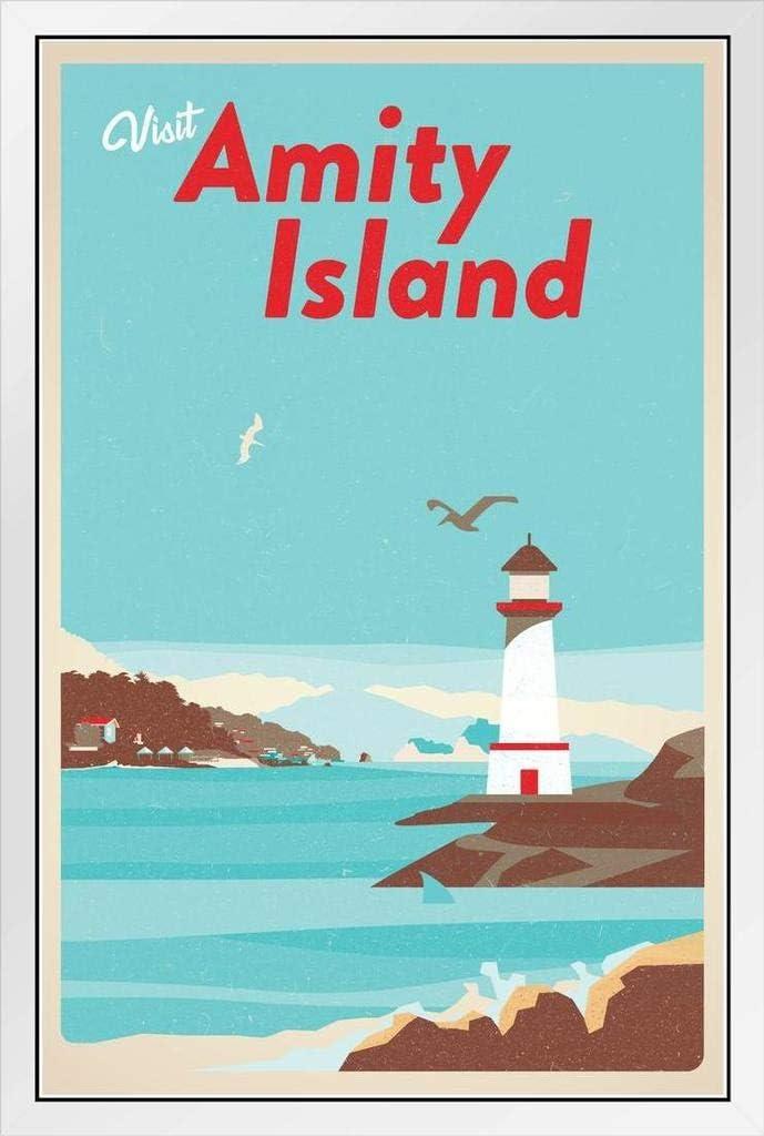 Visit Amity mart Ranking TOP1 Island Massachusetts Fantasy Sh Travel Vintage Retro
