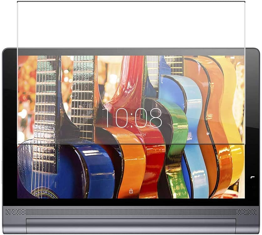 Puccy Anti Blue Light Tempered Glass Screen Protector Film, compatible with lenovo Yoga Tablet 3 Pro 13.3