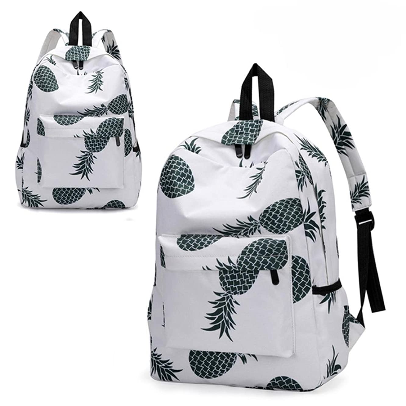 Transer Women Teenage Girls Floral Print School Bags Bookbags Travel Backpack (B-A)