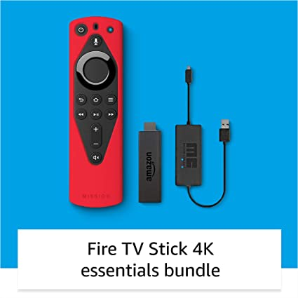 Selfie stick, 40 inch extendable selfie stick tripod,phone tripod with wireless remote shutter compatible with iphone 12 11 pro xs max xr x 8plus 7, android, samsung galaxy s20 s10,gopro and more 4.4 out of 5 stars 12,231 Amazon Com Fire Tv 4k Essentials Bundle Including Fire Tv Stick 4k Remote Cover Red And Usb Power Cable Amazon Devices
