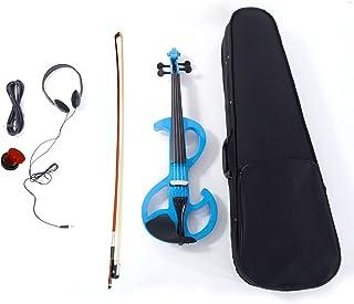 cossepair GT4-OXJ High-grade 8 Pattern Electroacoustic Violin Kit (Case Bow Rosin) آبی