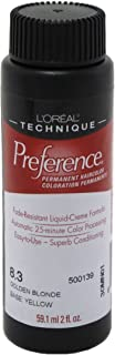 Loreal Preference Color #8.3 Golden Blonde (3 Pack)