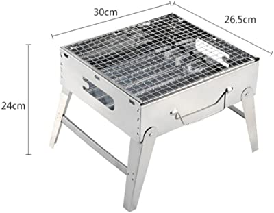 Amazon.com: LifeX - Parrilla portátil para barbacoa de ...